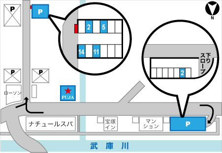 takarazuka_parking_map